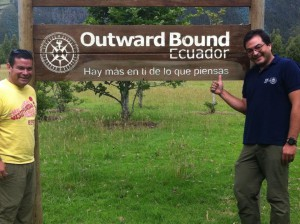 Site visit with our colleagues at Outward Bound Ecuador