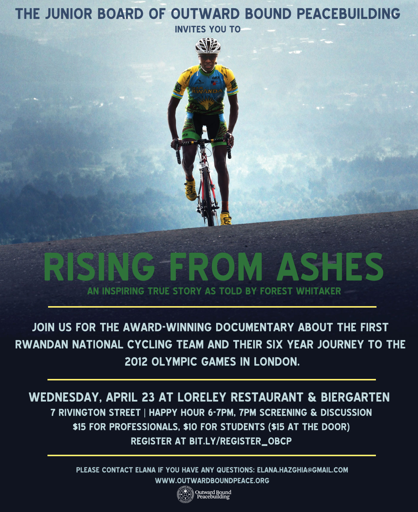 Rising from Ashes Film